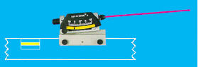 laser level converter with inclinomter on level