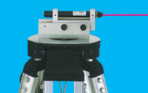 laser level converter on tripod