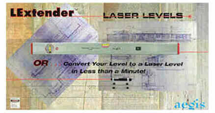 lextender laser layout tools poster
